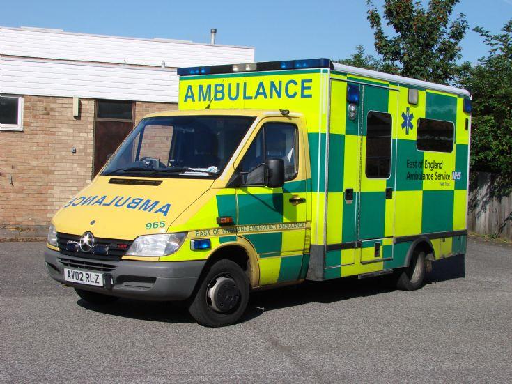 NHS East of England Ambulance 965