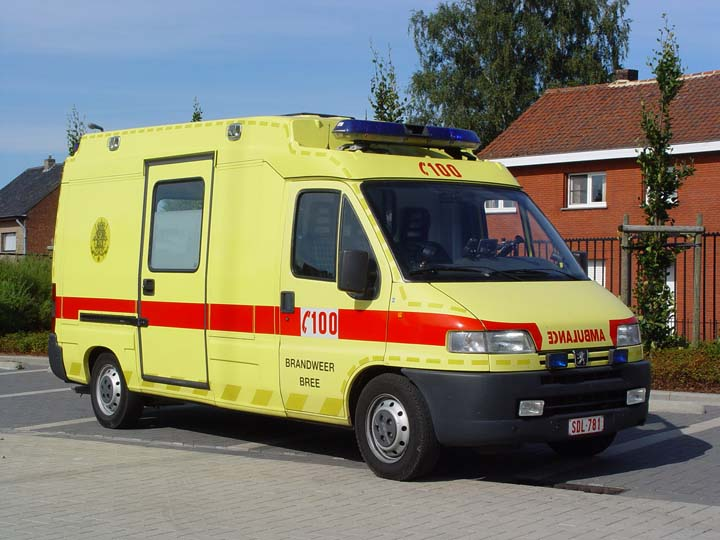 Photo of  ambulance Brandweer Bree, Belgium.