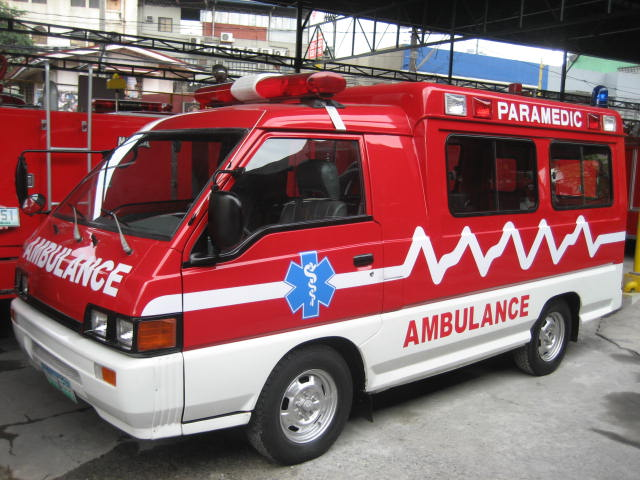 Mitsubishi ambulance Province of Capiz
