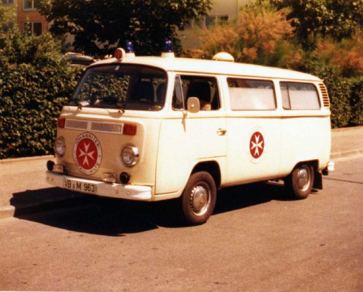 Johanniter vw bus ambulance VB-M963