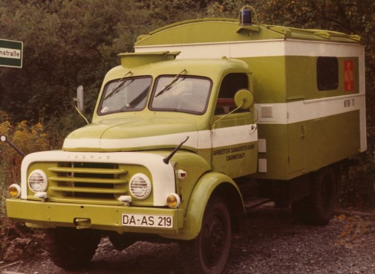 Hanomag AL-28 as a Mobile first-aid post