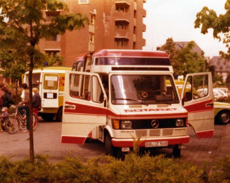 Notartz ambulance BB-JZ538